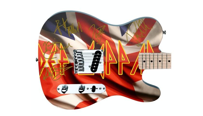 Def Leppard Custom Graphics Guitar
