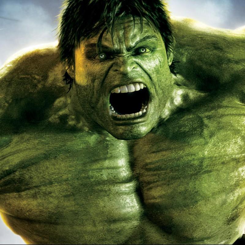 """""""Incredible Hulk"""" Glove Digital Signed by Stan Lee"""