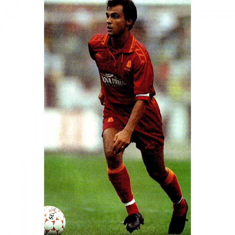 Giannini's Roma Match Shirt, 1994/95 - Signed by Francesco Totti