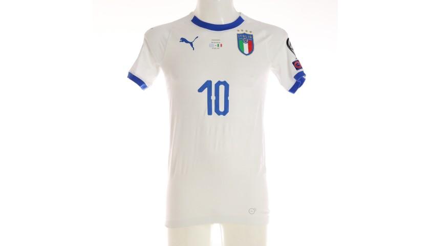 Insigne's Match Shirt, Greece-Italy 2019