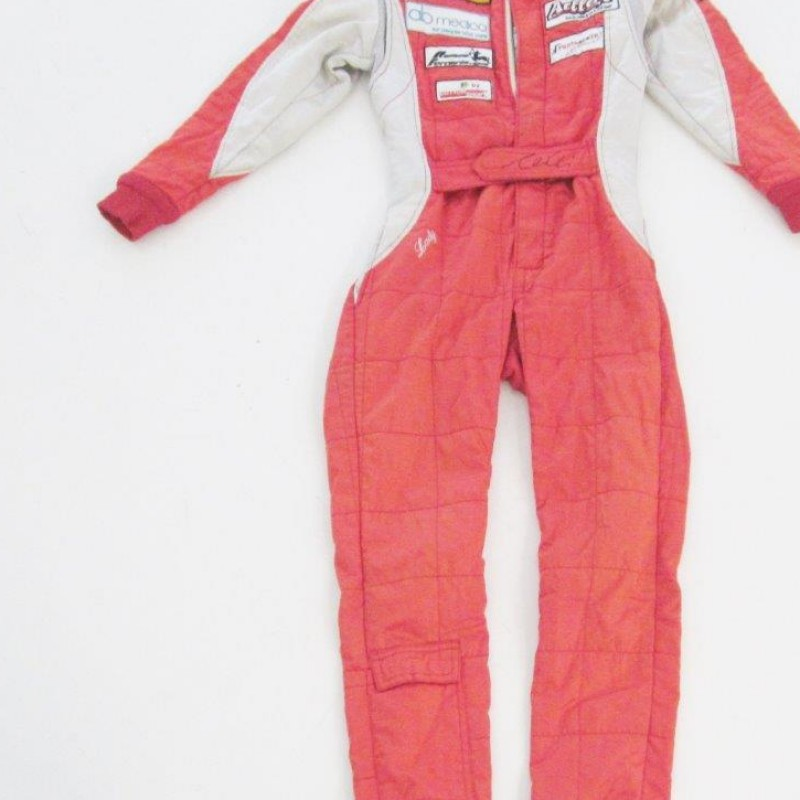 Michela Cerruti race worn suit - signed