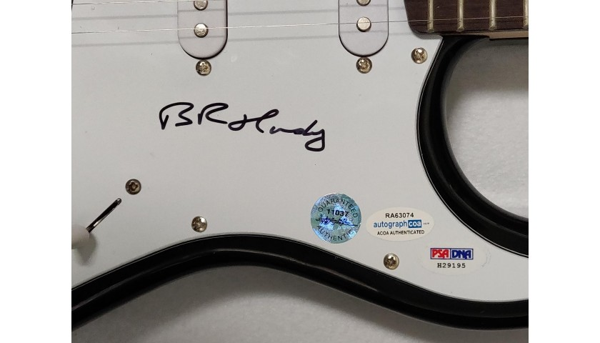 Bruce Hornsby of The Grateful Dead Autographed Guitar