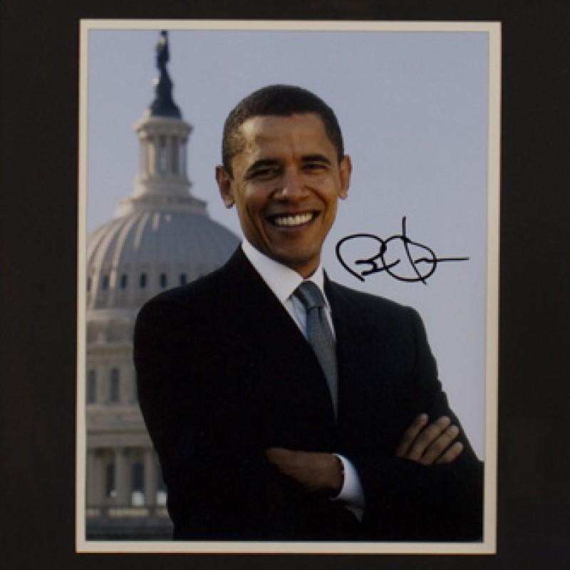 Fotografia autografata dal presidente Barack Obama