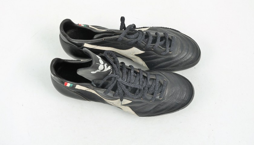 Zico's Match-Issued/Worn '80s Diadora Cleats