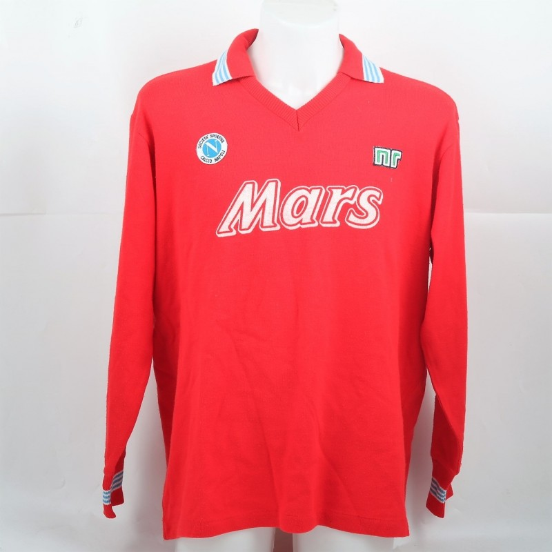Careca's Match-Issued/Worn Napoli Shirt, 1989/90