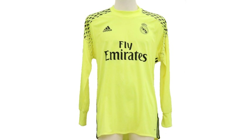 detailed look add3d 53c2d Keylor Navas' Real Madrid Match-Issue Shirt, UCL 2016/17 - CharityStars
