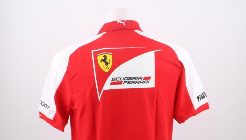 rock-bottom price great discount sale retro Official Ferrari t-shirt short sleeved - CharityStars