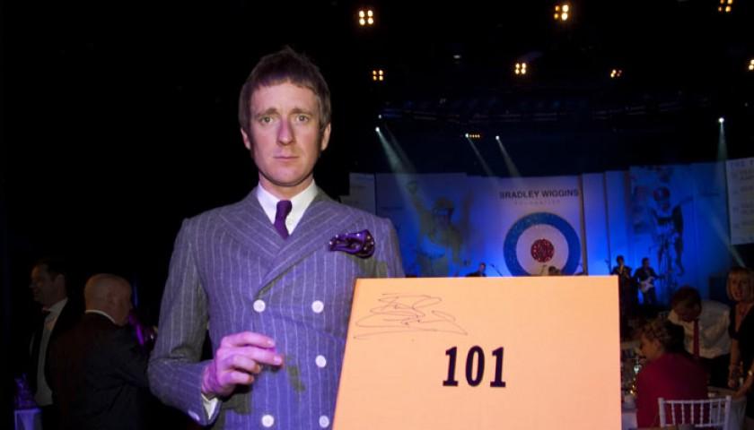 d4873ff3e Sir Bradley Wiggins 101 Yellow Jersey Signed Opus Edition - CharityStars
