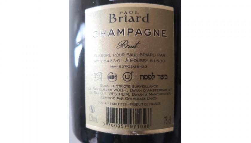 3 bottiglie di Champagne Francese Casher le Pesach