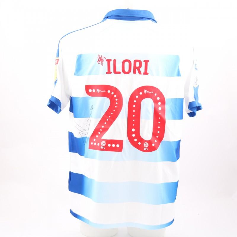 Ilori's Match-Worn Reading FC Signed Poppy Home Shirt