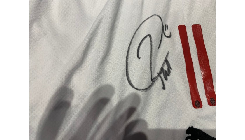 Official Milan Shorts - Signed by Ibrahimović