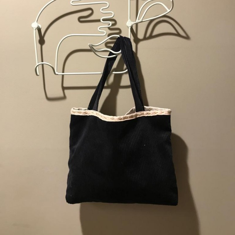 Laura Zagari Handmade Blue Bag