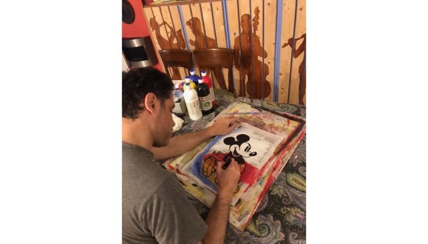 """""""Mickey Typographic"""" Original Board by Riccardo Penati"""