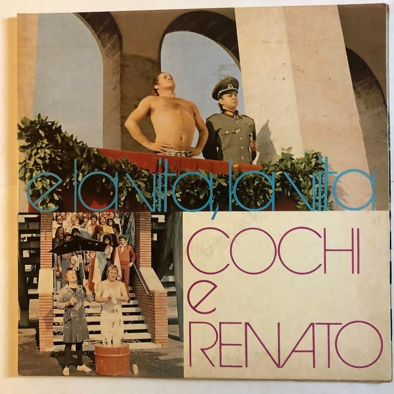 """""""E la vita, la vita"""" LP by Cochi e Renato, 1974"""