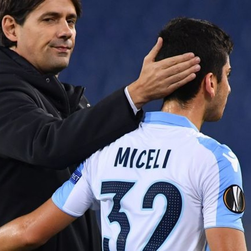 Miceli's Lazio Match-Issue/Worn Shirt, EL 2017/18