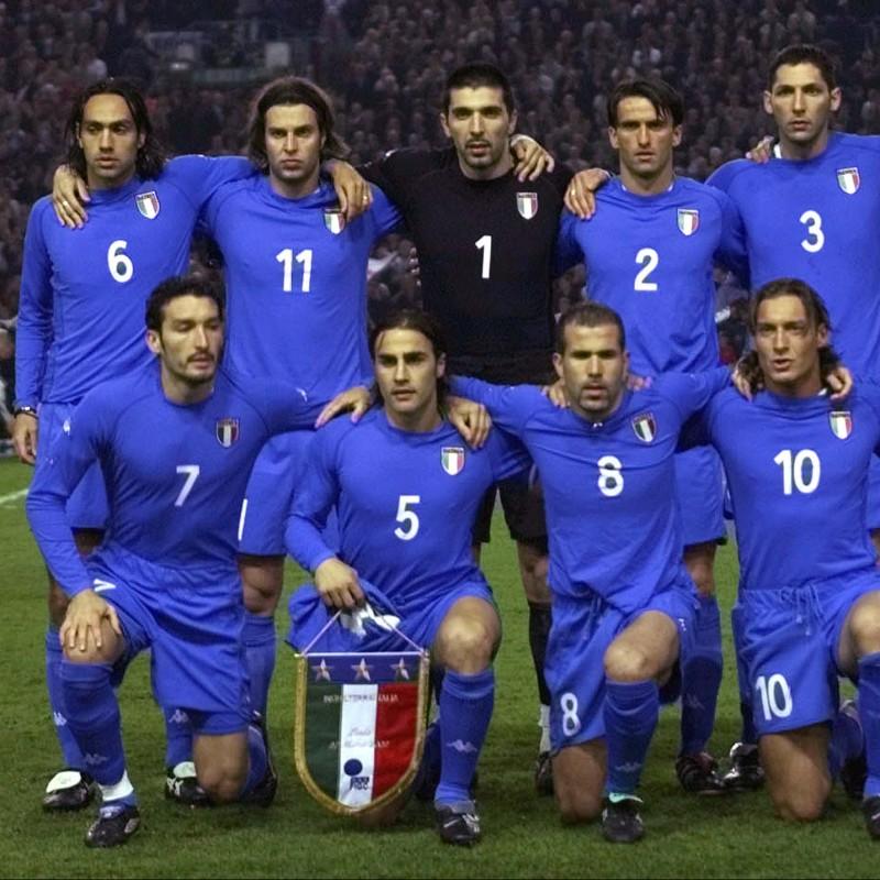Nesta's Worn Shorts,  England-Italy 2002