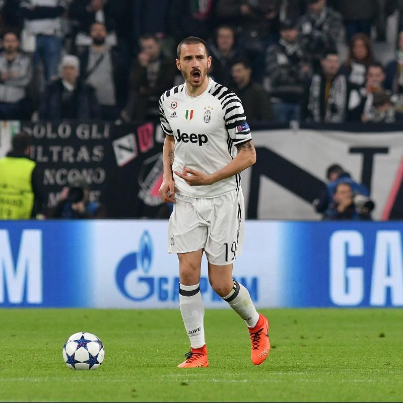Official Bonucci Juventus Shirt,  2016/17 - Signed