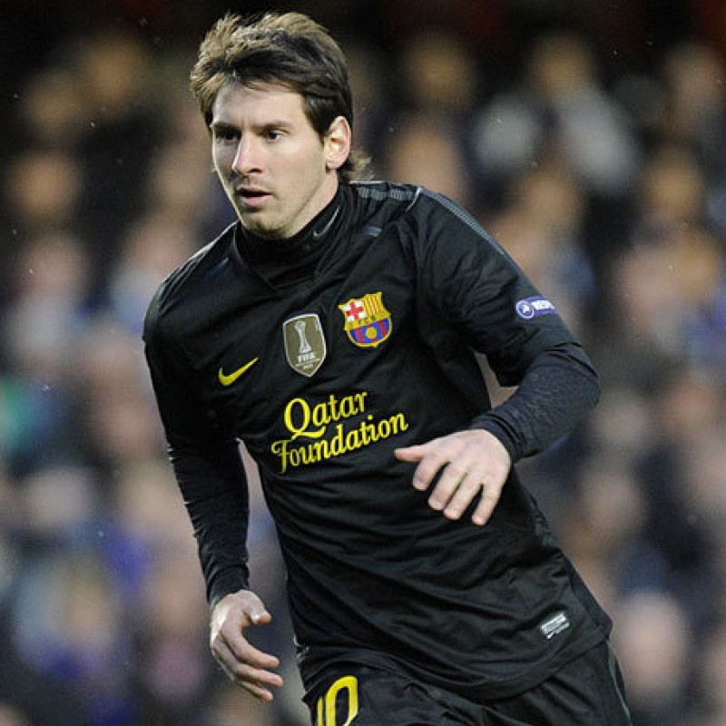 Messi's Official Barcelona Signed Shirt, 2011/12