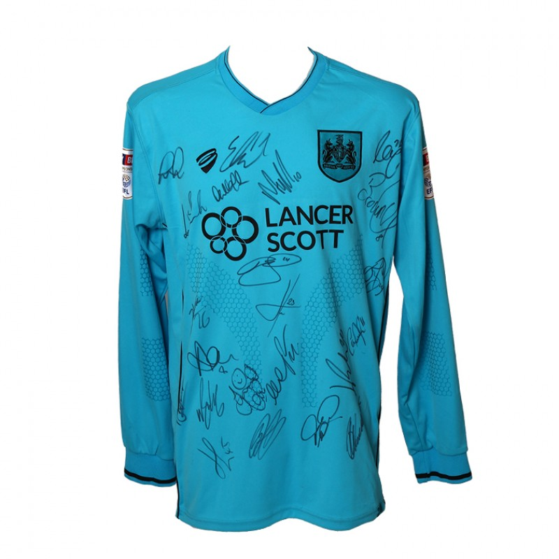 Bristol City FC 1st Team Keeper's Shirt Signed by the 2017/18 1st Team