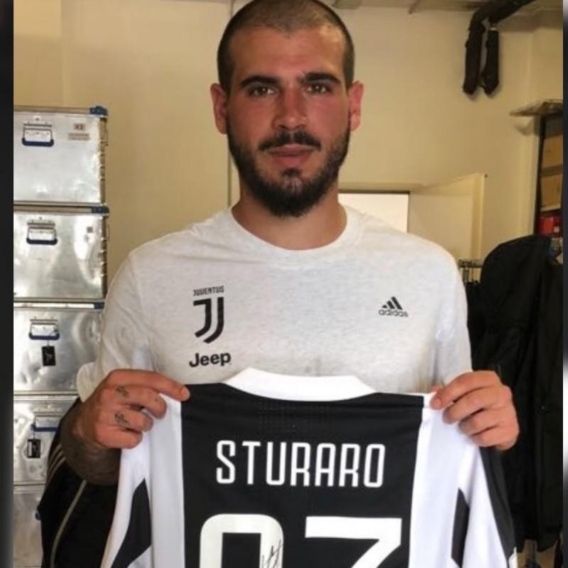 Sturaro's Match-Worn/Signed Juventus-Milan Shirt, 2018 TIM Cup Final