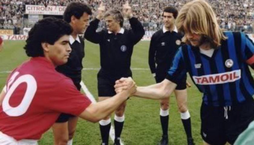 Maradona's Official Napoli Signed Shirt, 1986/87