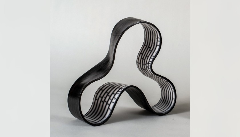 Folding in Motion #2 by Simcha Even-Chen, 2017