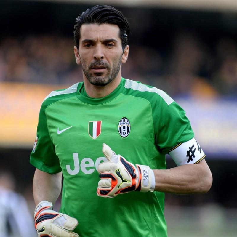 Buffon's Juventus Signed Match Shirt, Serie A 2013/14
