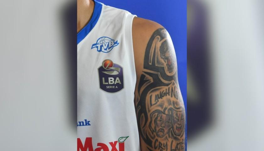 Completo da gara ufficiale De'Longhi Treviso Basket, indossato da David Logan nella stagione 2019/20 in Serie A