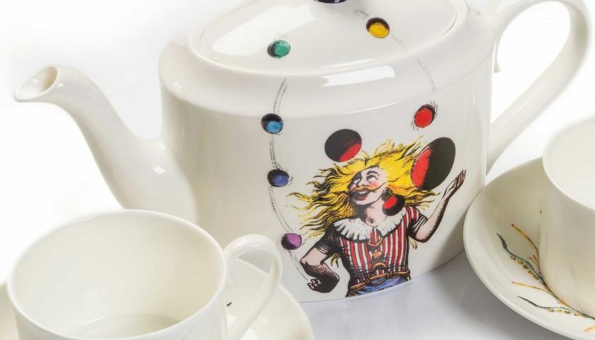 Queen Innuendo bone china tea set