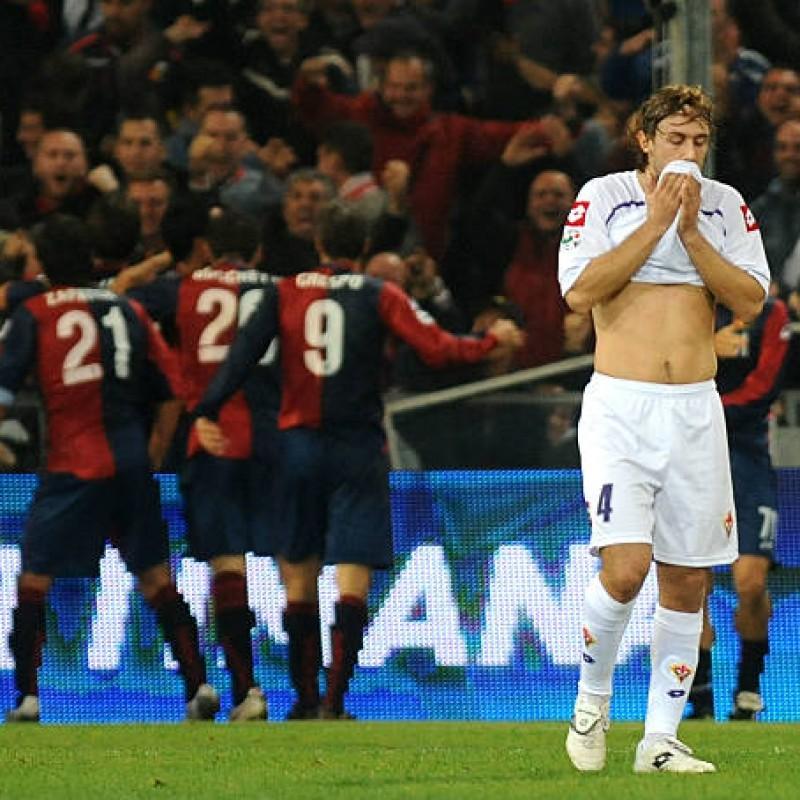 Donadel's Match-Issued/Worn 2010 Genoa-Fiorentina Shirt