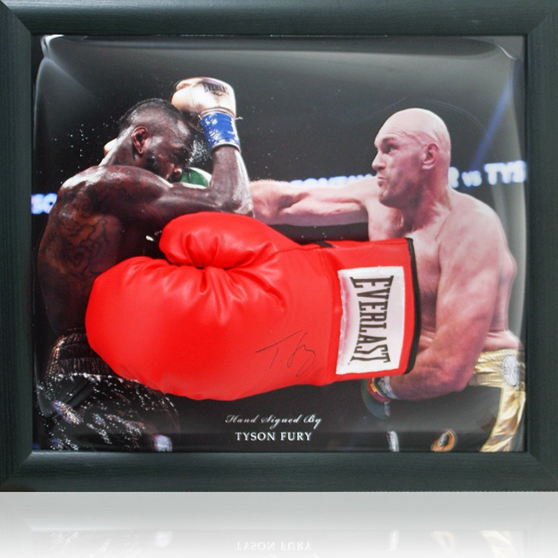 Tyson Fury hand signed Boxing Glove
