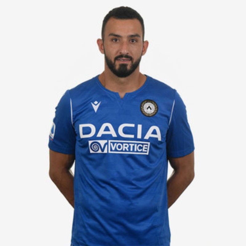 Nicolas' Special Worn Shirt, Udinese Calcio -SPAL