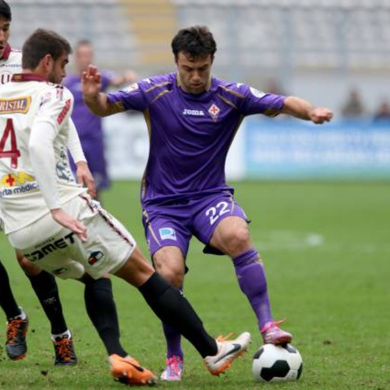 Rossi's Fiorentina Signed Match Shirt, 2014/15