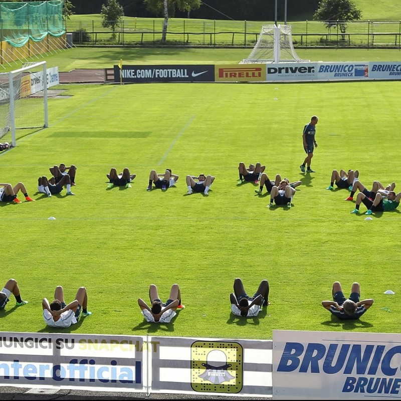 Watch Inter Practice from VIP Area and Meet Players - July 8