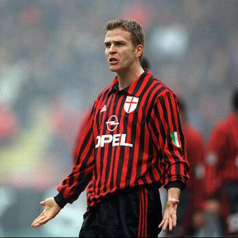 Bierhoff's Match-Issued 2001 Perugia-Milan Shirt, 1st Scudetto Celebratory Edition