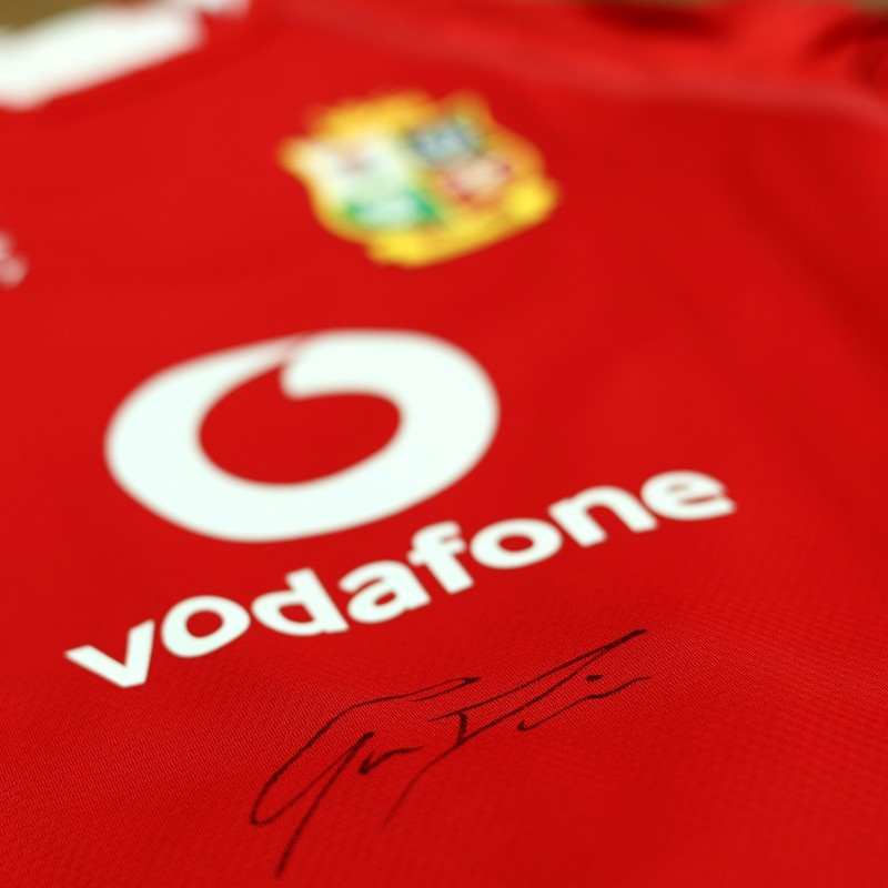Lions 2021 Test Shirt - Worn and Signed by Gareth Davies