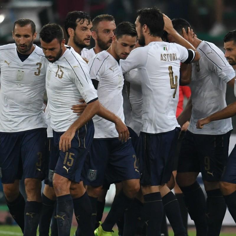 De Sciglio's Match Shirt, Italy-France 2016