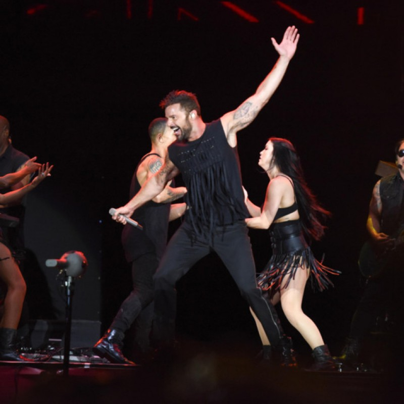 Sit in Ricky Martin's Personal Seats in Montreal