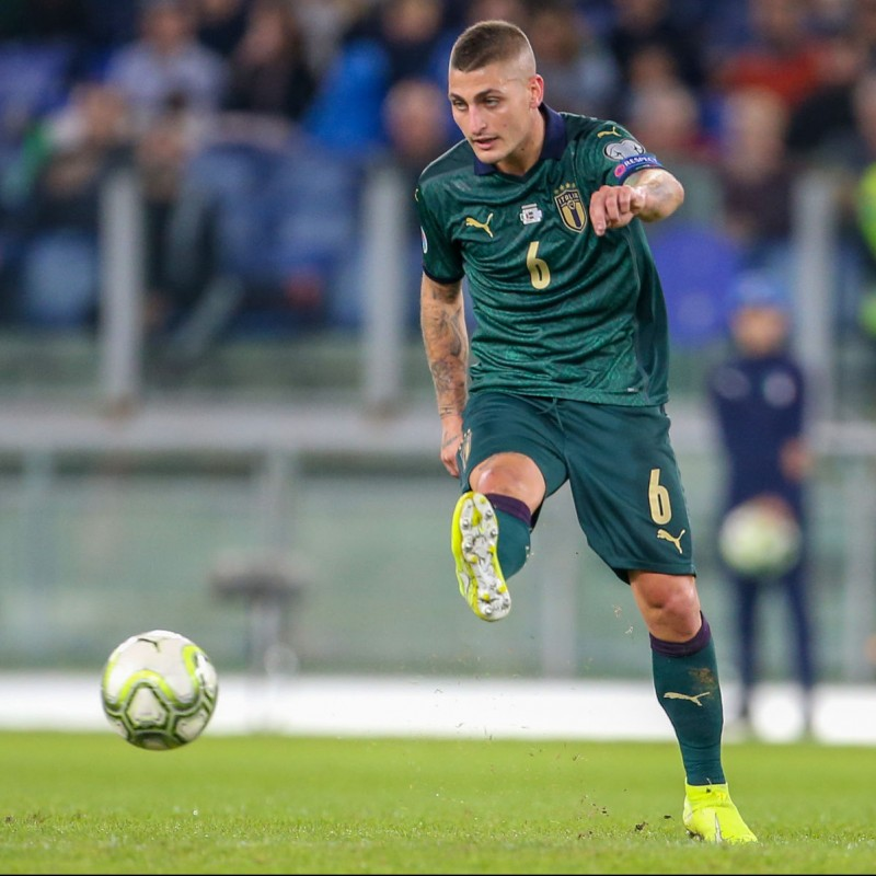 Verratti's Match Shirt, Italy-Greece 2019