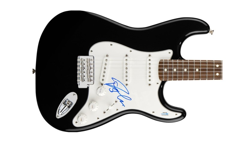 Rob Thomas Autographed Guitar