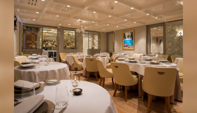 3-Course Lunch at The Five Fields Restaurant for 2 with Champagne