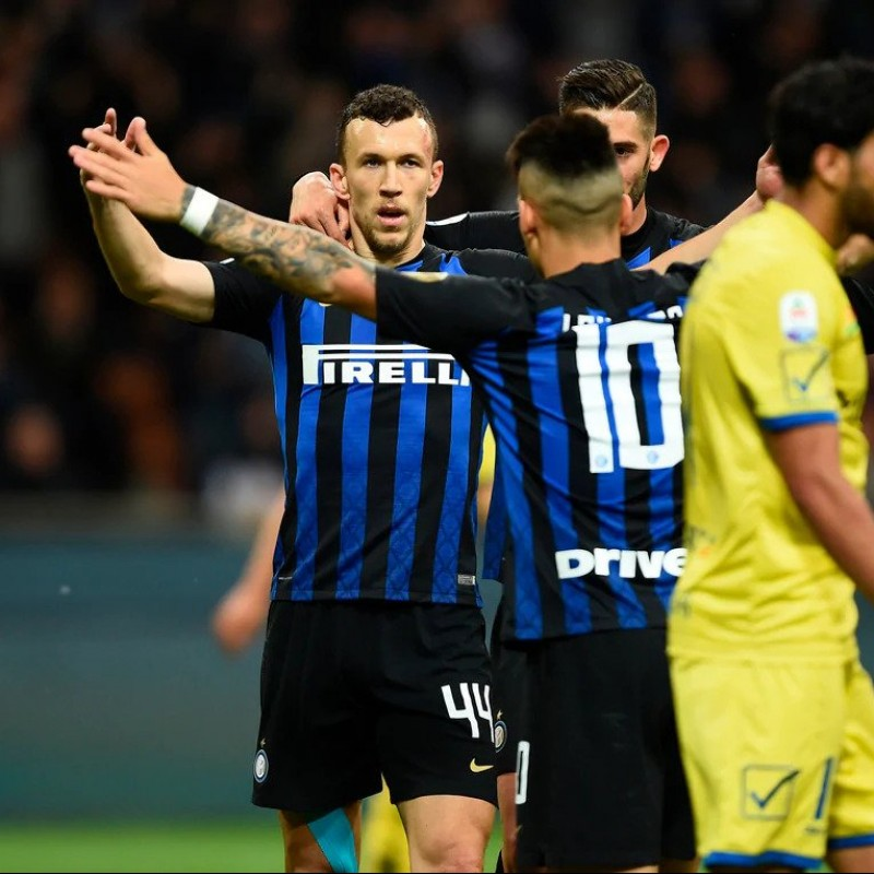 Perisic's Worn Shirt, Inter-Chievo 2019 - Inter Forever Patch