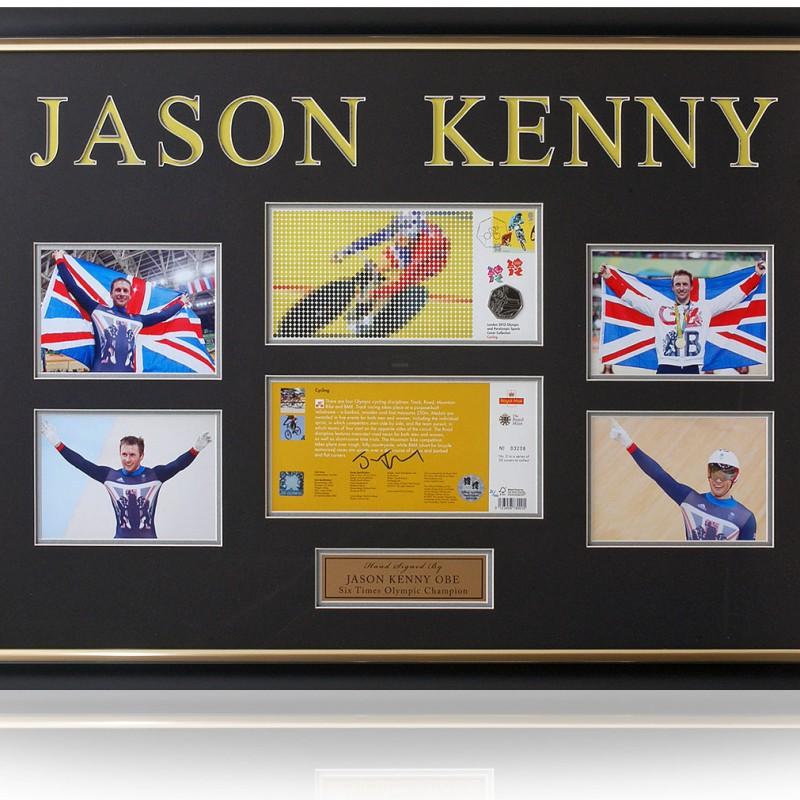Jason Kenny Signed Cycling Coin Presentation London 2012 Olympics