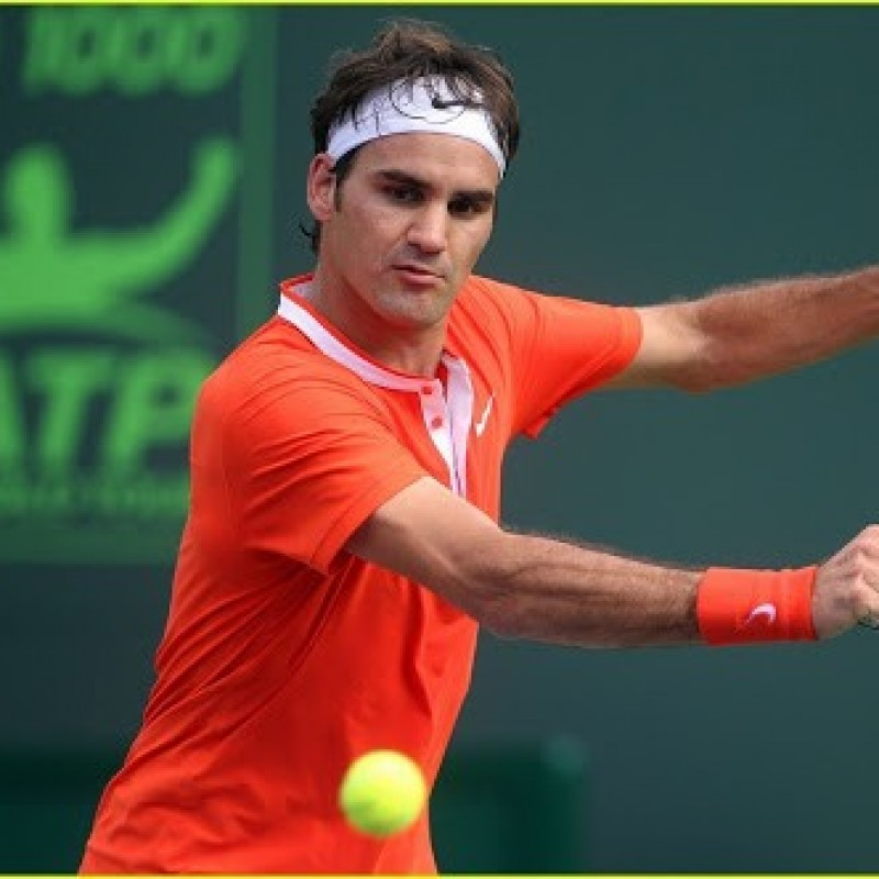Federer's Match Shirt, Miami Sony Ericsson Open 2010