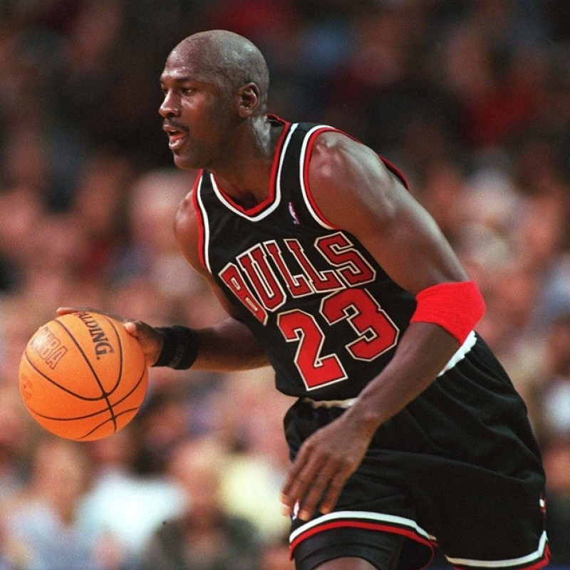 Official Chicago Bulls Jersey - Signed by Jordan