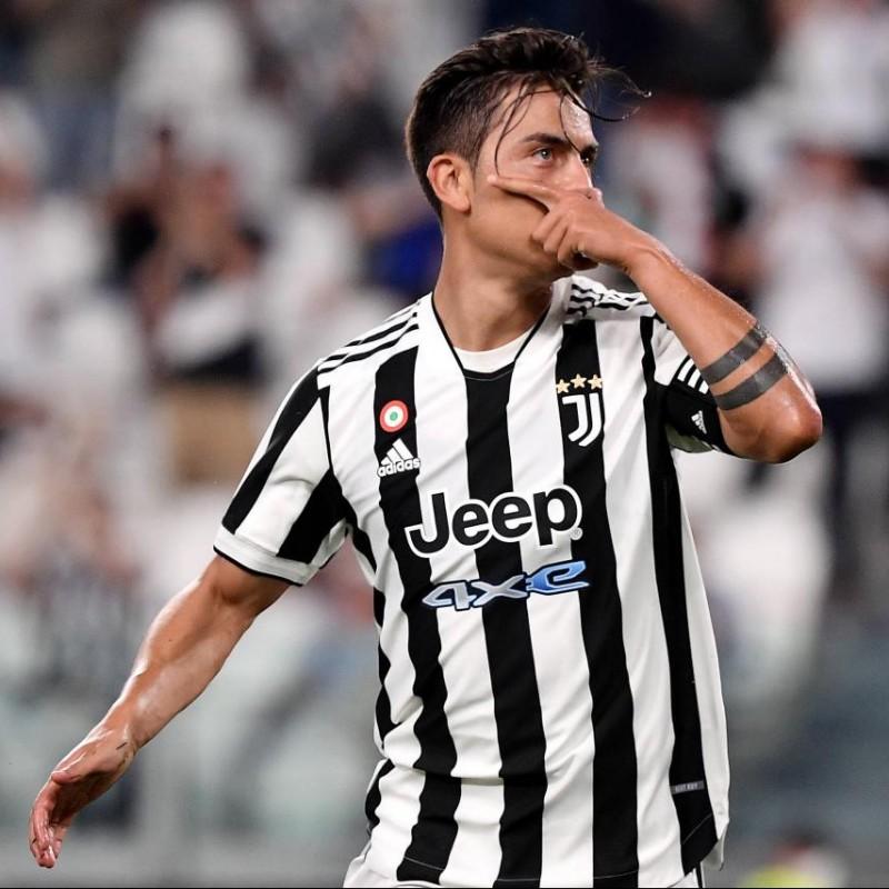 Dybala's Official Juventus Signed Shirt, 2021/22