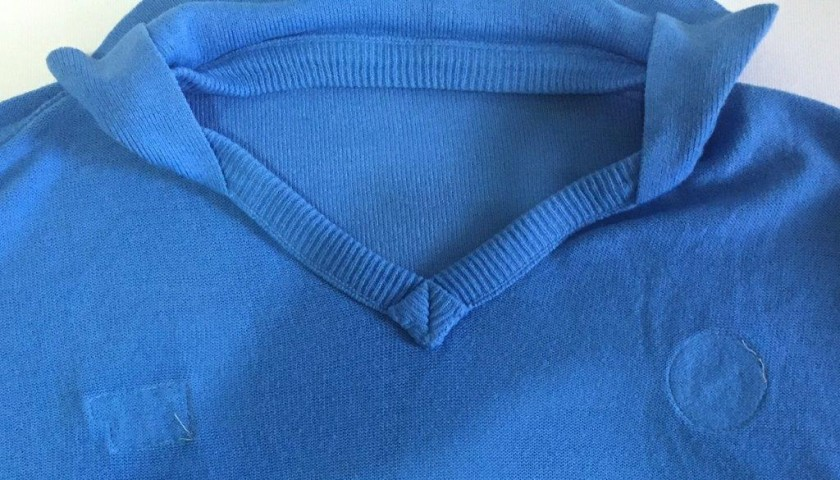 Maradona Napoli shirt, issued/worn 1988/1989 season