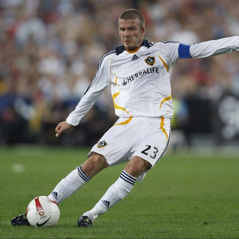 Maglia gara Beckham LA Galaxy, 2007/08