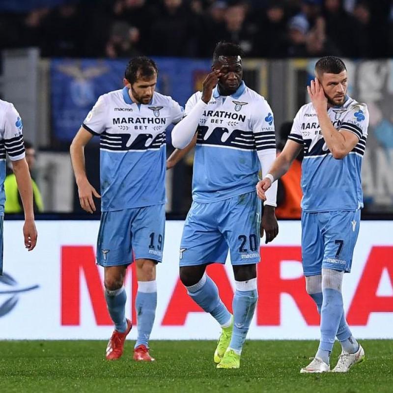 Berisha's Match Shirt, Lazio-Juventus 2019 - Special Paideia