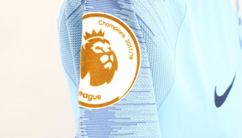 Gabriel Jesus' Man City Signed Match Shirt, 2018/19
